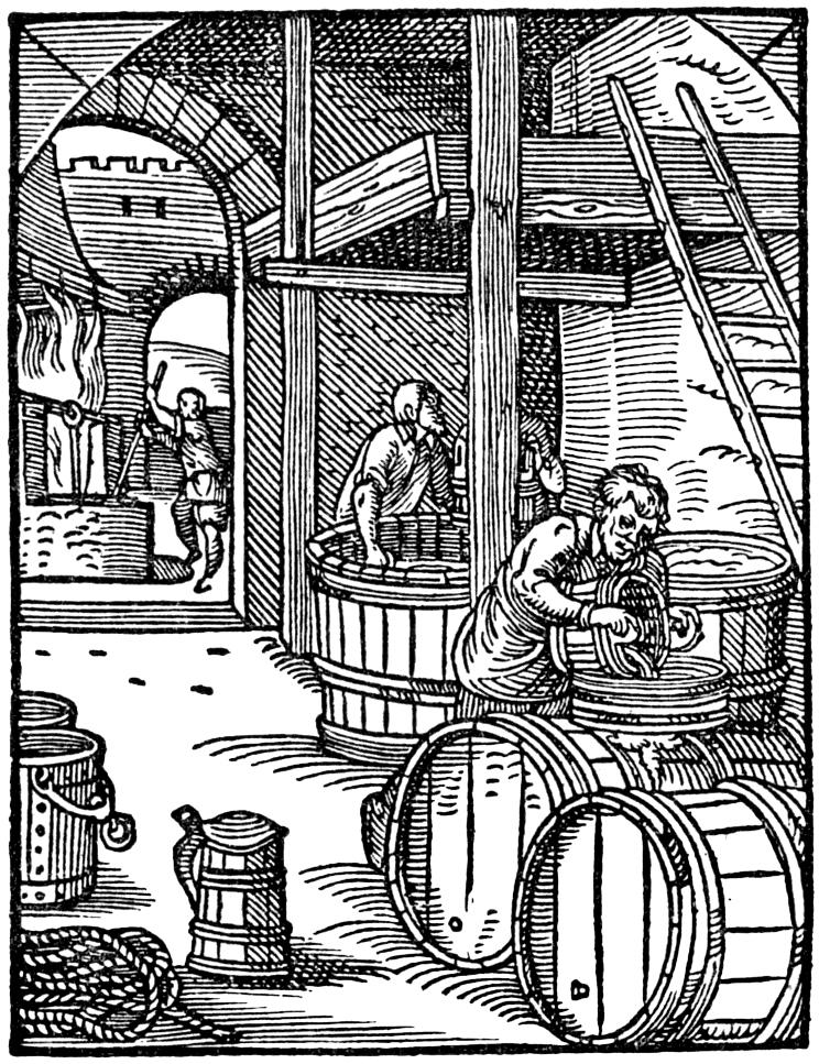 Bier brouwen in de Middeleeuwen
