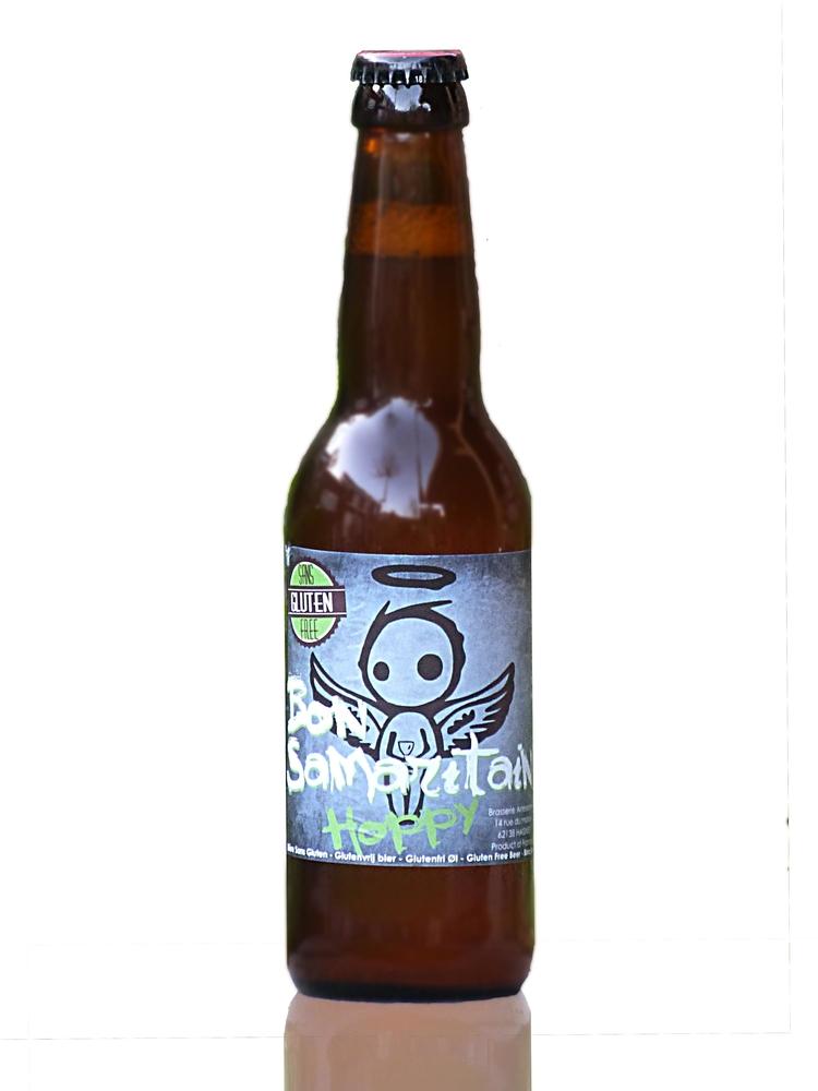Bon Samaritain Hoppy -  een heerlijk troebel hoppig bier van Brasserie Artésienne