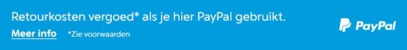 PayPal vergoed uw retourkosten